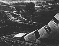 A Siegfried-vonal a német-francia határon többszáz kilométer hosszan fut végig