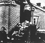 Az oroszok nyílt városokat bombáznak Finnországban: a kép Abo egyik agyonbombázott házát mutatja.