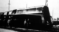Az első magyar áramvonalas gőzmozdony (1936) próbaútján 150 kilométeres sebességgel haladt.