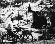 Túrára, sportra, weekendre a legnagyobb öröm a megbízható JAWA motorkerékpár vagy sportkocsi. Kérjen ismertetést URBACH, VI., Hunyadi-tér 12.
