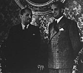 Gróf Csáky István és Conte Galeazzo Ciono találkozása Velencében