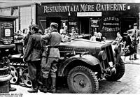 A németek  Párisban