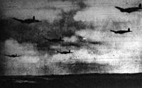 Német repülőgépek Anglia fölött