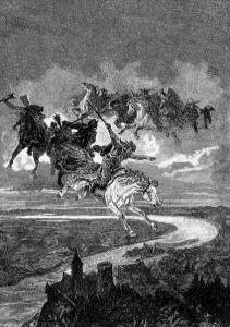 Csaba királyfi a hadak útján