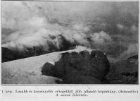Jég- és hópárkány a Hintere Schwarze gerincén