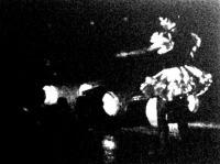 Mozgalmas kép egy televíziós táncszámról