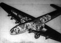 A világ legnagyobb repülőgépe egy Maxim Gorkij tipusu orosz utasszállító