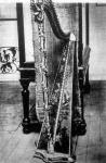 Marie Antoinette francia királyné hárfája
