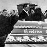 Énekes István temetése