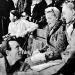 Ernst Baier, Inge Koch, Maxie Herber, Ulrich Kohn a nézők soraiban