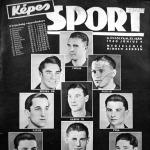 A Ferencváros bajnokcsapata a Képes Sport címlapján