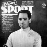 Kovács A. Pál a képes sport címlapján