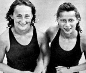Lovász Gitta és Novák Ilona