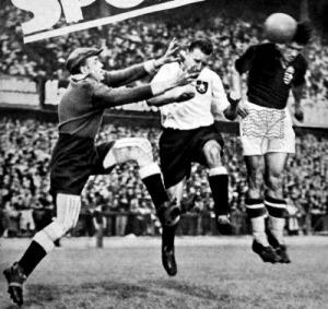 Az első magyar gólt Kiszely fejelte
