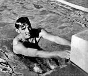 Angyal Károly a 400 méteres gyorsúszás győztese