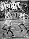 Szilágyi és Kelen a Képes Sport címlapján