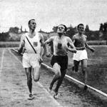 A 10000 méteres verseny finise - Szilágyi, Csaplár és Németh