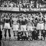 A Szolnoki MÁV győztes csapata - Fazekas, Kolláth, Csabai, Nagy, Szűcs, Kispéter, Korom, Laborcz, Selmeczi, Horváth és Szántó