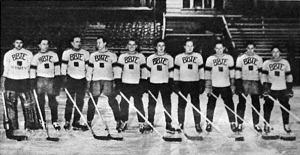 A bajnok BBTE csapata - Gáti, Helmeczy, Rendi, Barcza dr., Fenessy dr., Kovai, Miklós, Hárai, Dengi dr., Szamosi