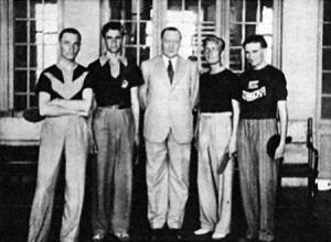 A férfiak - Sós, Sidó, dr. Beszterczey Jacoby Roland, Farkas és Harangozó