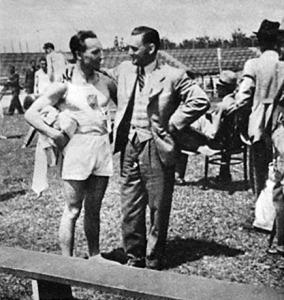 Pelle István és Pataky Ferenc a csepeli versenyen