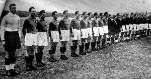 A jugoszláv és a magyar csapat