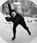 Kiss Árkád (w. o.) nyerte Magyarország 1941. évi gyorskorcsolyázó bajnokságát