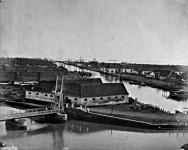 Egy batáviai kikötő