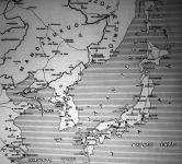 Japán és távolkelet térképe