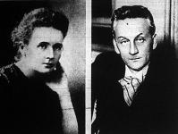 Marie Curie-Sklodowsky professzor és Szent-Györgyi Albert professzor