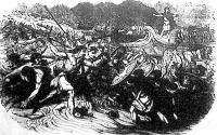 Julius Ceasar csapataival partra száll Angliában