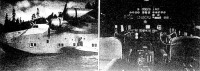 A Clipper-repülőhajó és pilótafülkéje