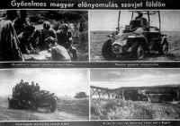 Magyar előnyomulás