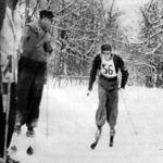Hulényi MAC, a futóverseny győztese a célban