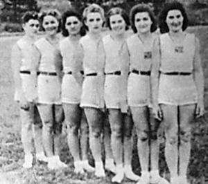 Az NTE csapata lett a második - Gulyásné, Wekinger, Nyári, Páldi, Nagy, Pongrátz, Gindl