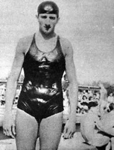 Szegedi Sándor, a 400 méteres mellúszás rekordere