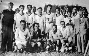 A kupagyőztes Ferencváros csapata