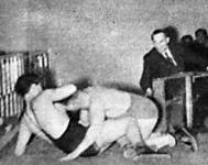 Bóbis és Rihetzky mérkőzése már nem csak a szőnyegen folyt