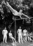 Börtsök Jenő, a legjobb formában levő magyar tornász