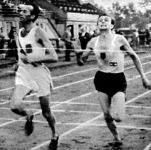 Szilágyi és Németh küzdelme 10000 méteren