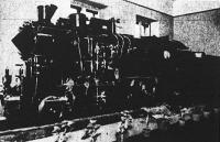 A 328,058. számú magyar gyorsvonati mozdony ötszörösen kicsinyített mása  (a miskolci MÁV-műhely tanoncai készítették)