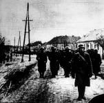 A magyar honvédség bevonul a felszabadult Zenta városába