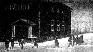 Téli iskola lappföldön