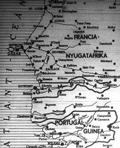 Dakar a térképen