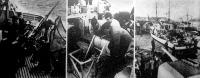 Az aknakutató flotilla indulásrakészen várja a parancsot egy norvég kikötőben. A hajók gőz alatt vannak, minden ember a helyén, kurta rádióüzenetre már indulnak is.