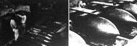 Mélyen a föld alatt, bombamentes kavernákban raktározzák fel - minden ellenséges támadás ellen biztosítva - a repülőbombák ezreit.