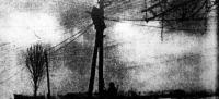 Az előnyomuló csapatokkal szinte egyazon ütemben mennek előre a hiradó-csapatok és első dolguk a távíróvezetékek lefektetése.