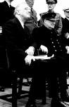 Roosevelt és Churchill egy korábbi találkozójukon