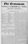 Az angol üzleti lap egy XIX. századi száma
