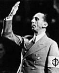 Göbbels propagandaminiszter, aki a Frankfurter Zeitungot is ellenőrizte
